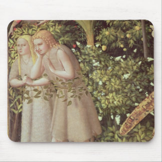 Adam and Eve Expelled from Paradise Mouse Pad