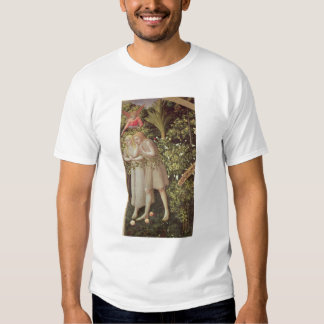 Adam and Eve Expelled from Paradise T-shirt