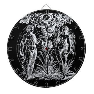 Adam and Eve Fall From Grace Dartboard