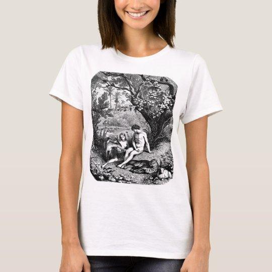 Adam and Eve in Eden T-Shirt