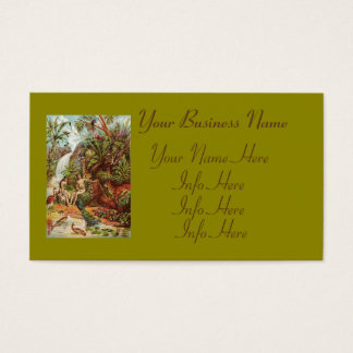 Adam And Eve In The Garden Business Card