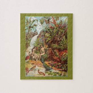 Adam And Eve In The Garden Puzzles