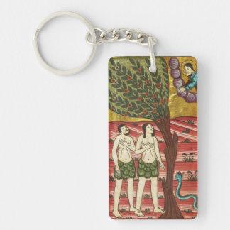 Adam and Eve Keychain