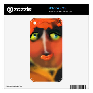 Adam and Eve iPhone 4S Skin