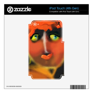 Adam and Eve Skin For iPod Touch 4G