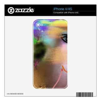 Adam and Eve Decal For The iPhone 4