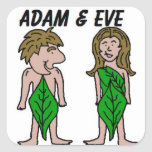 Adam And Eve Stickers