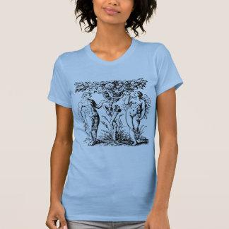 Adam and Eve & Tree T-Shirt