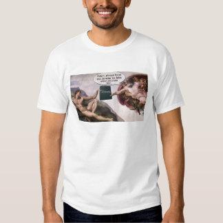Adam and God Binder Full of Women Tee Shirt