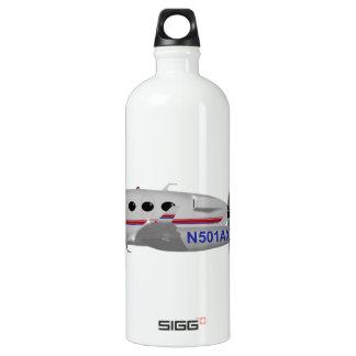 Adam Aviation A-500 N501AX Aluminum Water Bottle