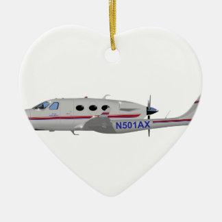 Adam Aviation A-500 N501AX Ceramic Ornament