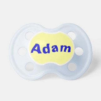 Adam Baby Boy Pacifier
