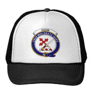 Adam Clan Badge Mesh Hats