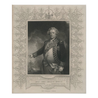 Adam Duncan, 1st Viscount Duncan of Camperdown Poster
