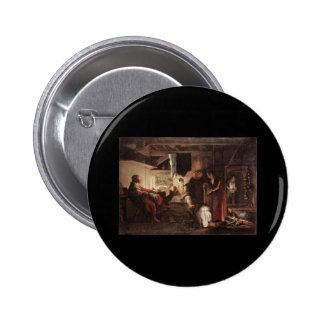 Adam Elsheimer Jupiter And Mercury At Philemon And Pinback Buttons