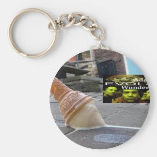 Adam Evola Wonder Basic Round Button Keychain
