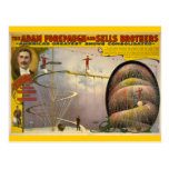 Adam Forepaugh and Sells Brothers Circus Poster Post Cards