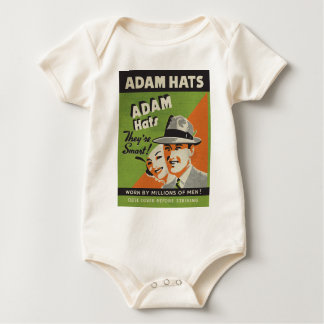 Adam Hats Baby Bodysuit
