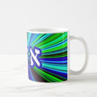 Adam - Hebrew Block Lettering Classic White Coffee Mug