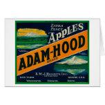Adam-Hood Apple Crate LabelHood River, OR