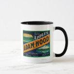 Adam-Hood Apple Crate LabelHood River, OR Mug