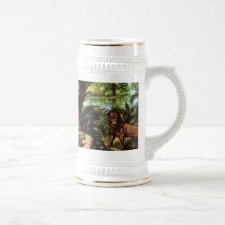 Adam in the Garden Coffee Mugs