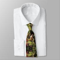Adam in the Garden Neck Tie