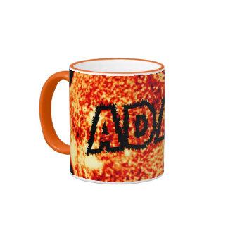 Adam - It's A Sunny Day Ringer Mug