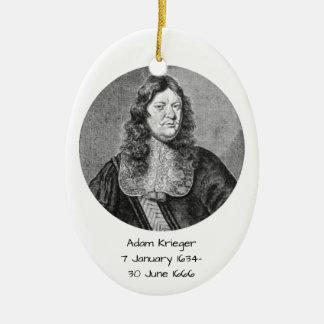 Adam Krieger Ceramic Ornament