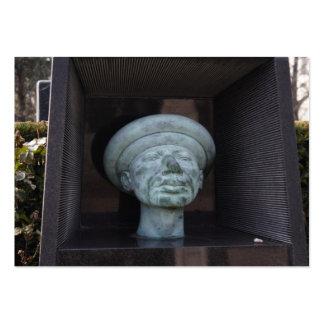 Adam - Sculpture On Rudolf Hausner's Grave Large Business Card