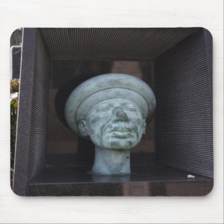 Adam - Sculpture On Rudolf Hausner's Grave Mouse Pad