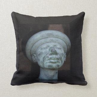 Adam - Sculpture On Rudolf Hausner's Grave Throw Pillow