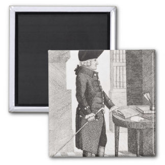 Adam Smith 2 Inch Square Magnet