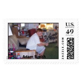 Adam Smith Postage Stamp