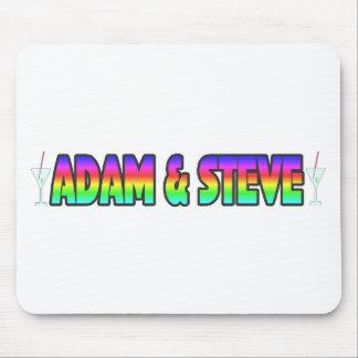 Adam & Steve Mouse Pad