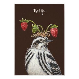 Adam thank you flat card