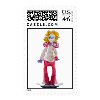 Adam the Clown Stamps