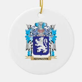 Adamczyk Coat Of Arms Christmas Tree Ornament