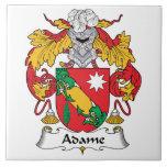 Adame Family Crest Ceramic Tiles