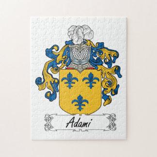 Adami Family Crest Jigsaw Puzzles