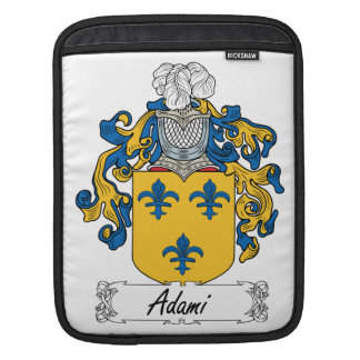 Adami Family Crest Sleeve For iPads