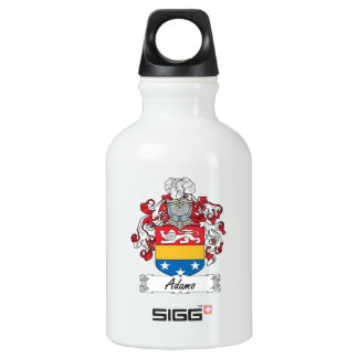 Adamo Family Crest Aluminum Water Bottle