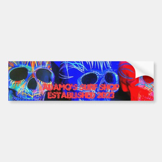 Adamo's Surf Shop Bumper Sticker