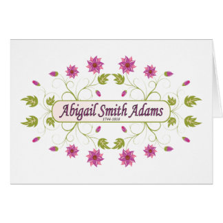 Adams ~ Abigail Smith Stationery Note Card