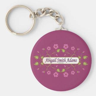 Adams ~ Abigail Smith Key Chains