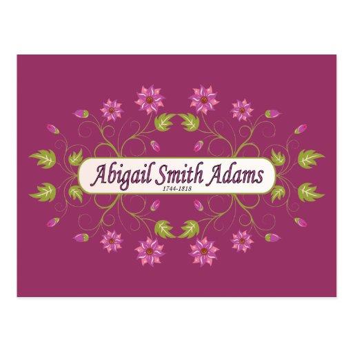 Adams ~ Abigail Smith Post Card