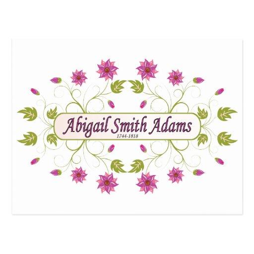 Adams ~ Abigail Smith Postcard