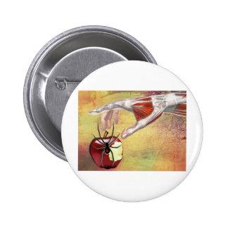 ADAM'S APPLE.jpg Pinback Button