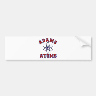 Adams Atoms Bumper Sticker