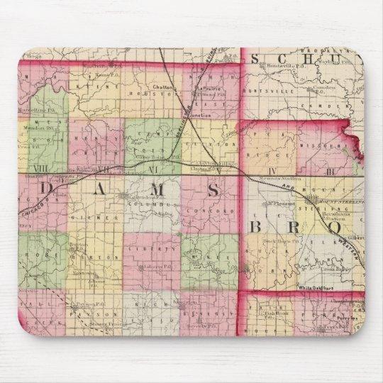 Adams, Brown, Pike counties Mouse Pad